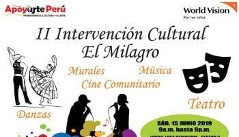II Intervención Cultural El Milagro Trujillo