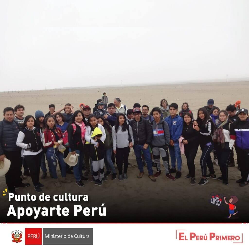 punto de cultura apoyarte peru